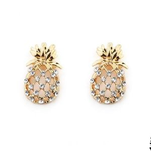 Jewelry - Pineapple Stud Earrings